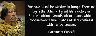 ghadaffi quote
