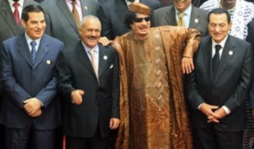 The Deposed Leaders of the Arab Spring