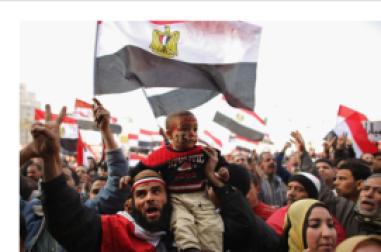 Egyptian protestors 2012