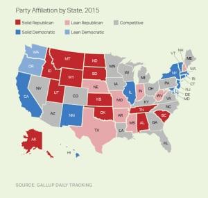 Gallup states